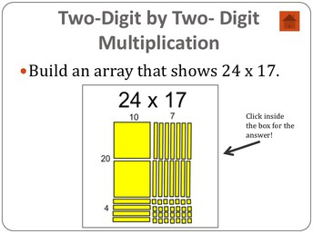 Building Arrays with Two-Digit Multiplication