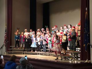 Third graders dancing away!