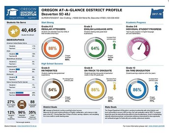 School and District At-A-Glance Reports