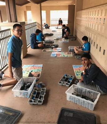Preparing Elementary VEX IQ Kits