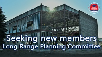 Seeking new members for our long range planning committee