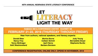Nebraska State Literacy Conference - February 21-22, 2019 in Kearney