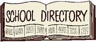 Vernfield Printed Directory - Deadline TODAY 9/27