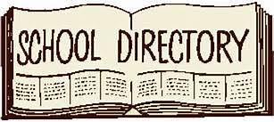 Vernfield Printed Directory - Deadline 9/27