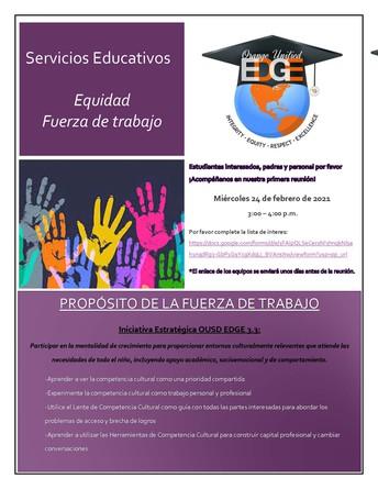 Grupo de trabajo sobre el patrimonio de los servicios educativos