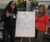 Sara Varon, Author & Illustrator Visits Library