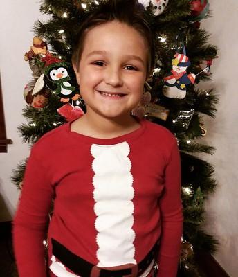 All smiles for Christmas!