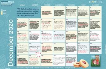 Free Family Activity Calendars