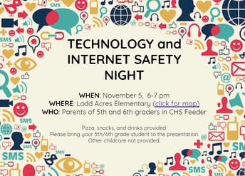 Se acerca la noche de seguridad tecnológica y de Internet