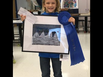 Congratulations Cameron for winning at the Estero Art Show!