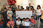 Celebrating St. Augustine at Warfield Elementary School