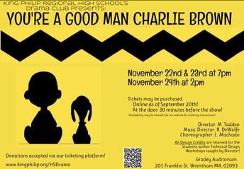 KPRHS Drama Club Presents: You're A Good Man Charlie Brown