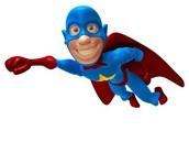 Super Hero Math Night