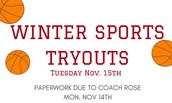 Winter Sports Sign Ups