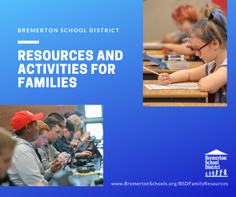 Resources & Activities for families