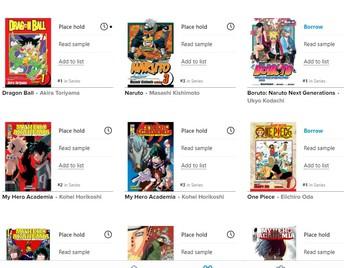 Manga & Graphic Novels