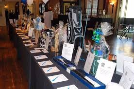 Lots of Silent auctions - members create baskets