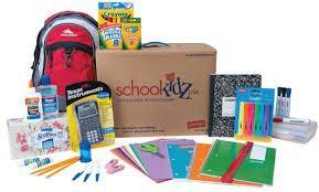 ¿Dónde está mi kit de útiles escolares pre-empaquetados que encargue en la primavera?