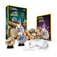 National Geographic's World's Best Geode Kit