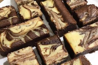 #12 Celebrate National Cream Cheese Brownie Day