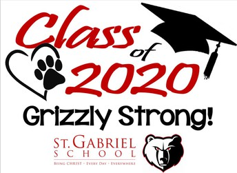 Celebrating our Grizzly Class of 2020 at the Lord's Table