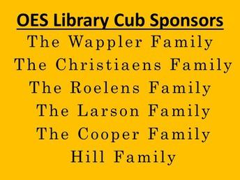 Library Sponsors