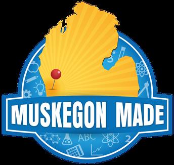 Muskegon made logo