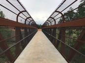 Bridge from school to athletic facilities
