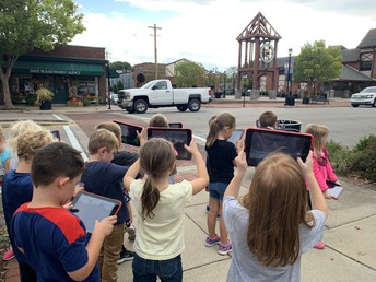 Kindergarteners Travel Back in Fort Thomas History with New Social Studies Standards
