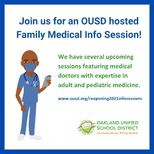 Upcoming Family Medical Info Sessions