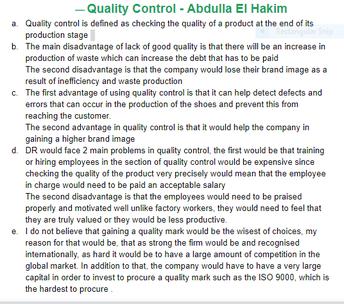 Abdullah El Hakim, Year 11