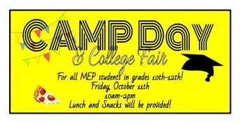 CAMP Day & College Fair 2019