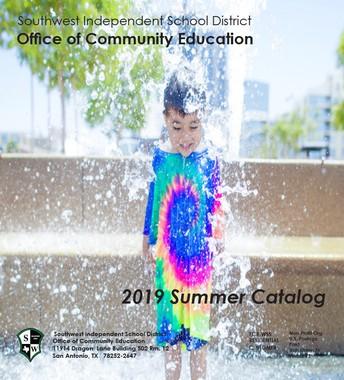 2019 Summer Catalog