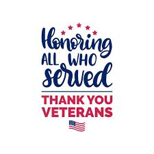 Veterans Day - Reminder