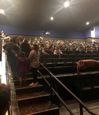 We filled up TWO theaters!