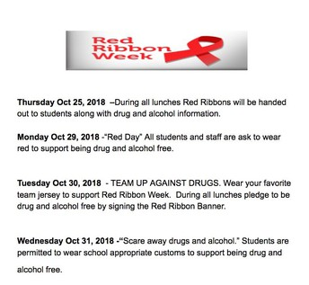 Red Ribbon Week was a phenomenal success!