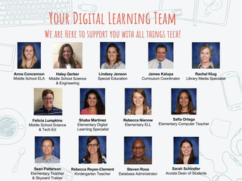 Digital Learning Team Presentations