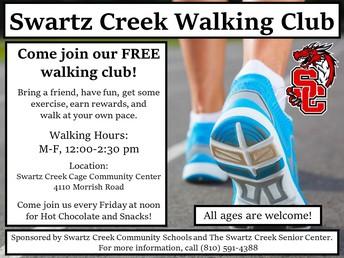 Swartz Creek Walking Club - Year Round