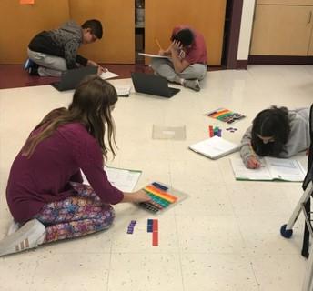 MMS 5th Graders Make Math Merry!