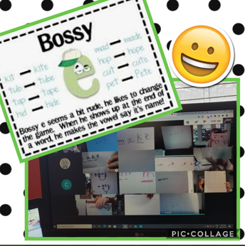 "Finding and sharing ""bossy E"""