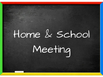 Home & School Meeting and Officer Elections - Tuesday 3/12