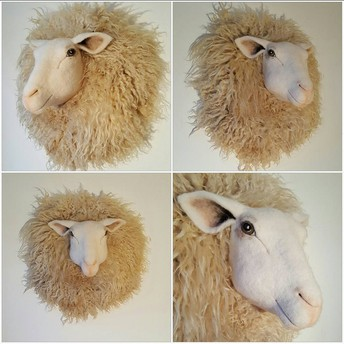 Masterclass needle felted Animal-head*