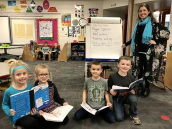 Kindergarten Writing Collaboration