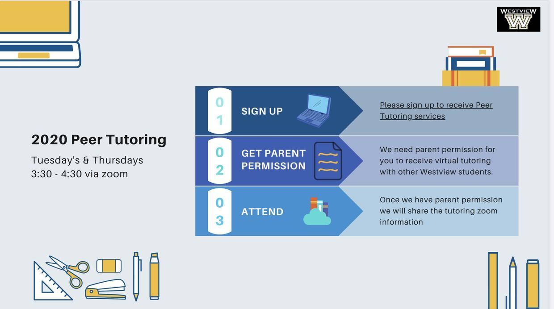 Peer Counseling Virtual Tutoring