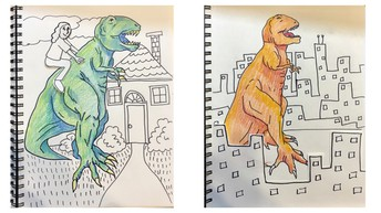 If the Dinosaurs Came Back 3rd Grade