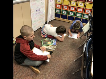 Using Nonfiction Text to Research our Habitats