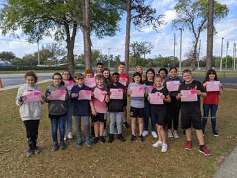 Year 2 Caring Students of the Month