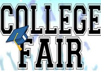 Upcoming College Fairs