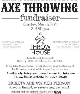 EP School PTO | Axe Throwing Fundraiser