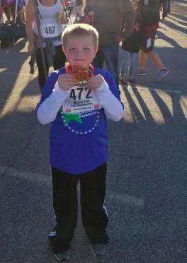 Mason Gray at Run Hard